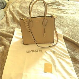Mercer Large Pebbled Leather Tote Bag
